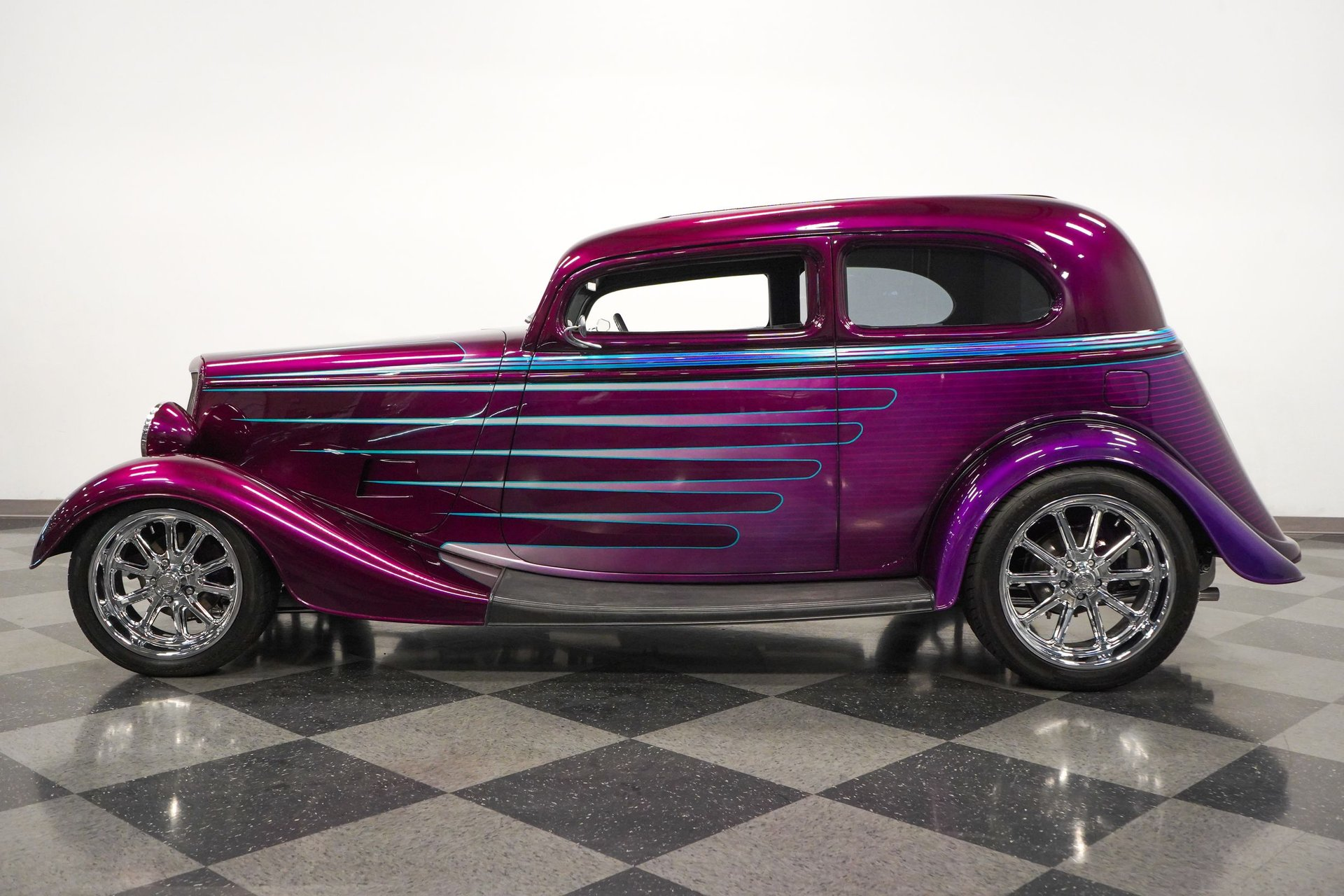 1934 ford victoria supercharged restomod