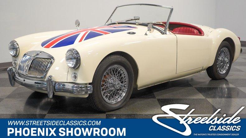 For Sale: 1960 MG MGA