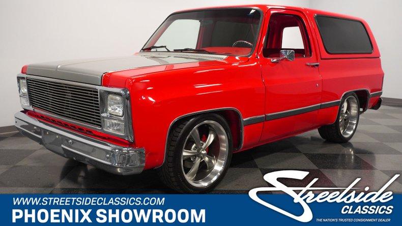 For Sale: 1979 Chevrolet Blazer