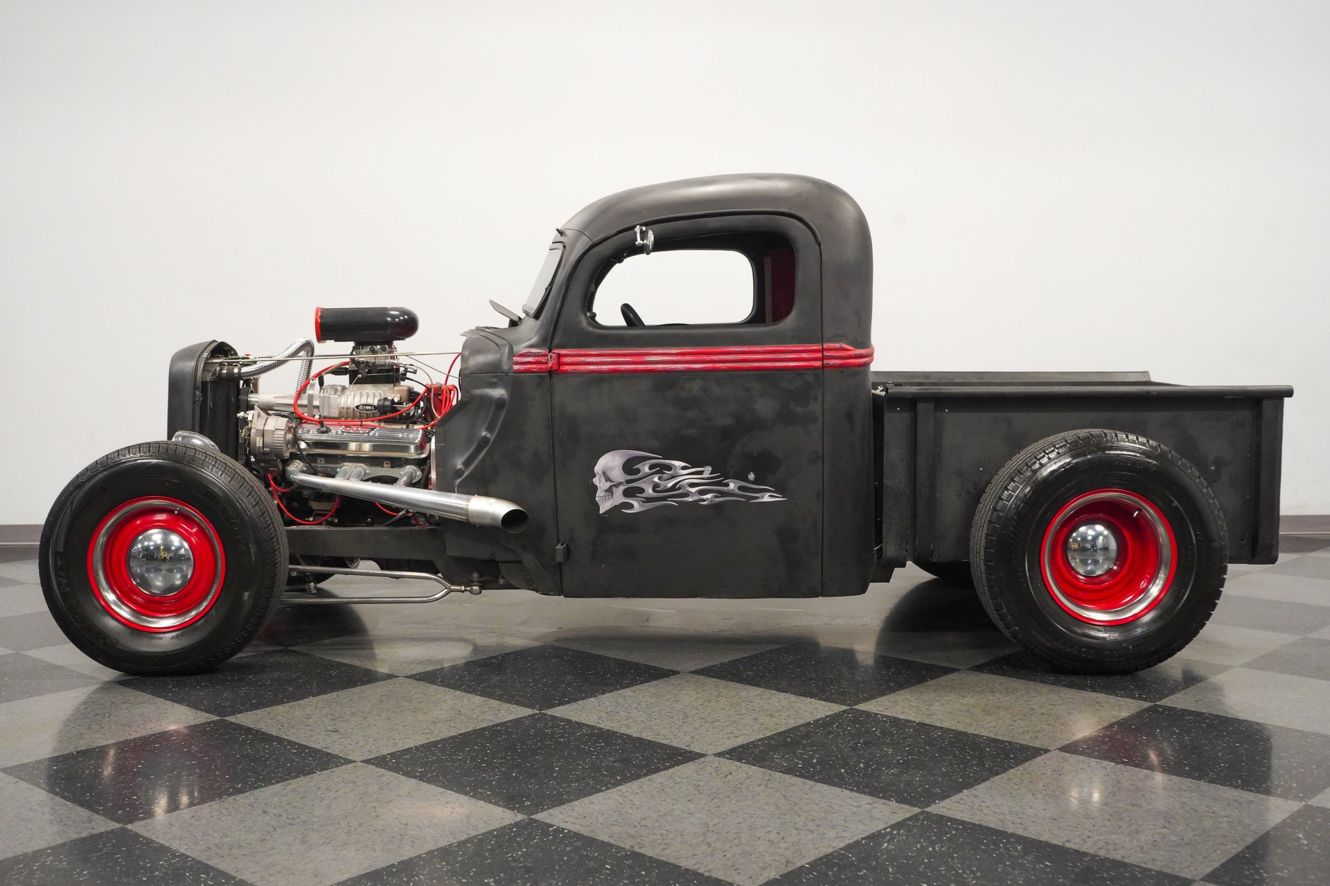1941 ford pickup supercharged rat rod