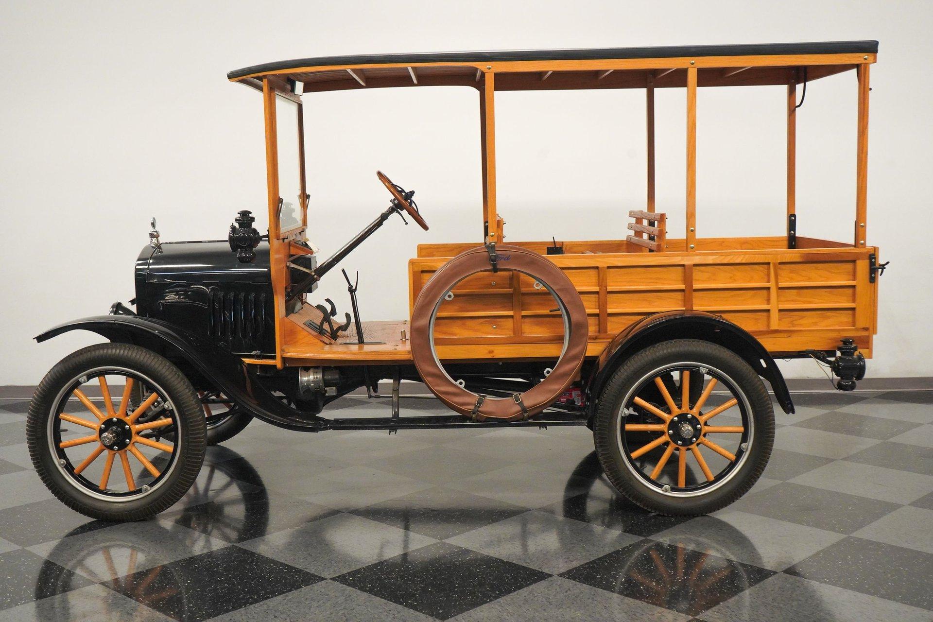 1924 ford model t depot hack