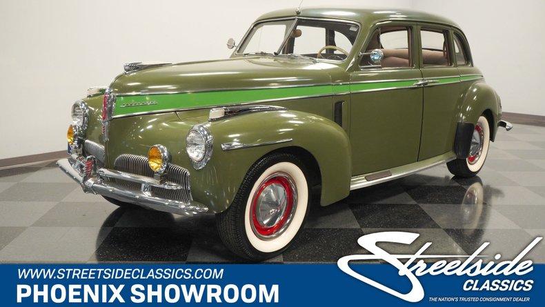 For Sale: 1941 Studebaker Commander