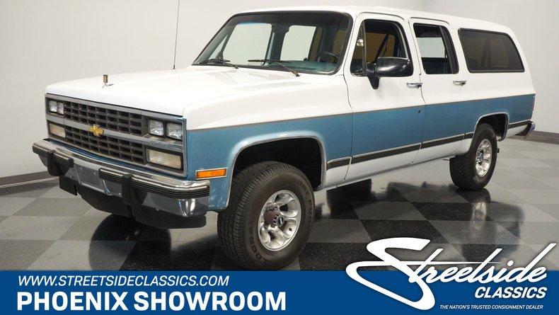 For Sale: 1991 Chevrolet Suburban