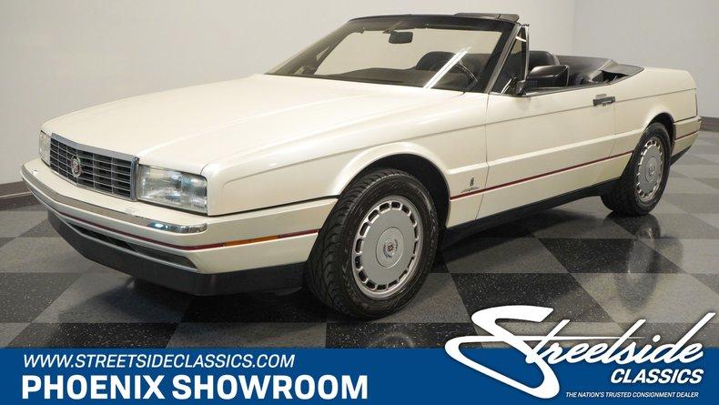 For Sale: 1991 Cadillac Allante