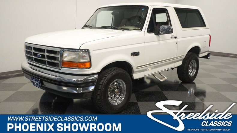 For Sale: 1995 Ford Bronco