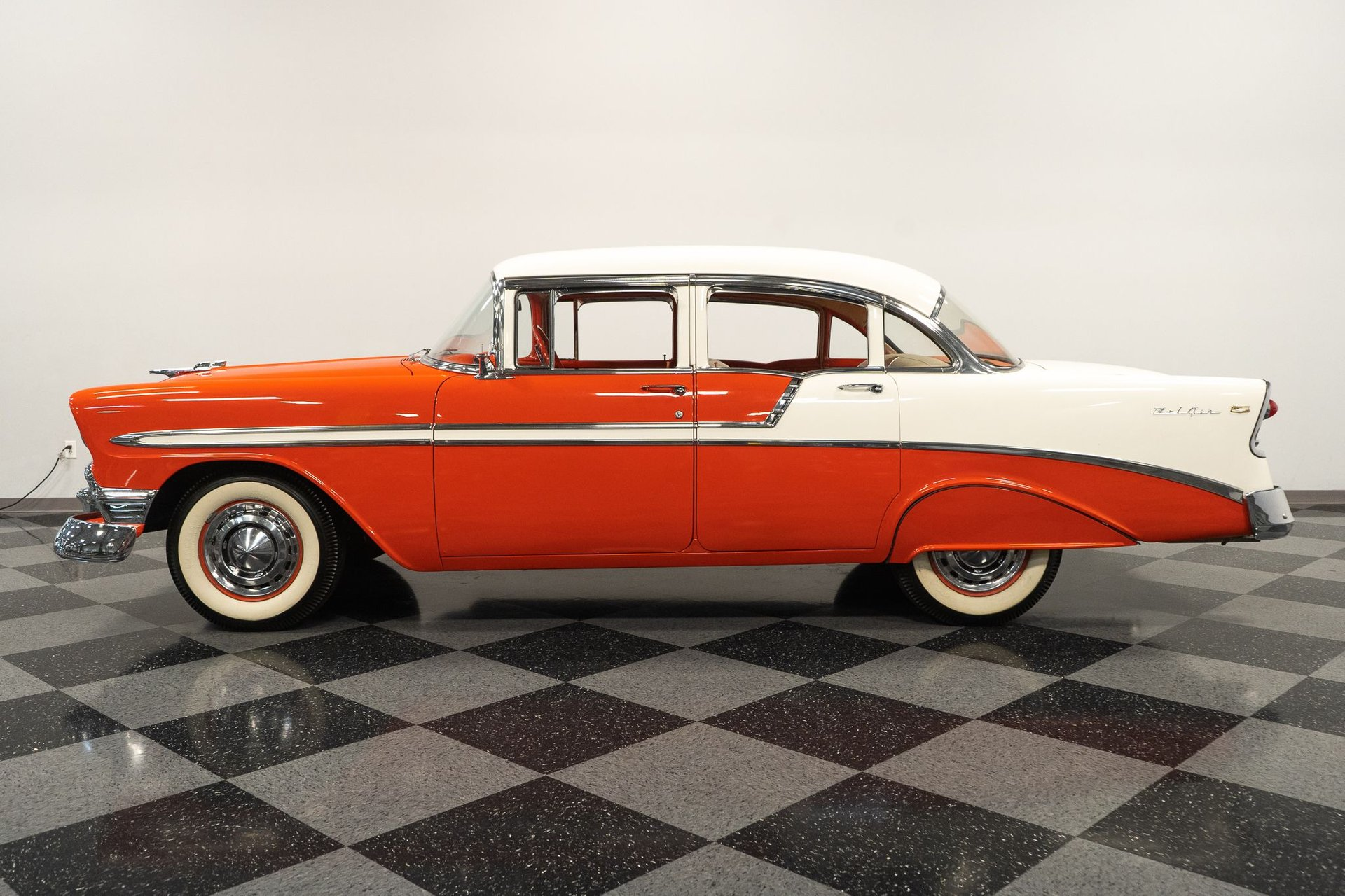 1956 chevrolet bel air 4 door sedan