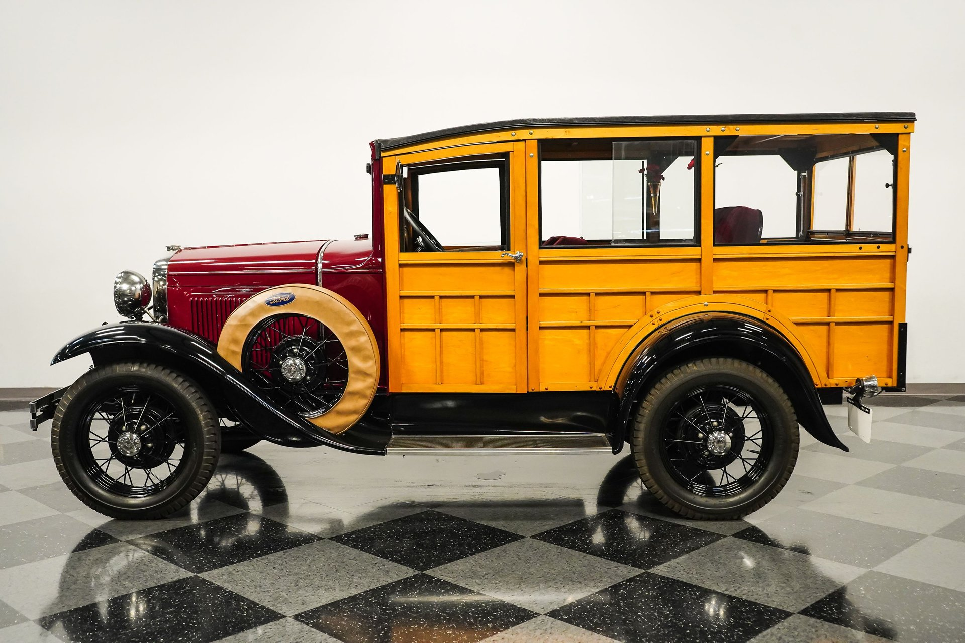 1930 ford model a woody wagon