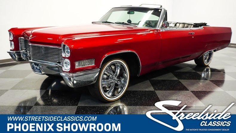 For Sale: 1966 Cadillac DeVille