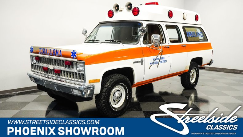 For Sale: 1981 Chevrolet Suburban