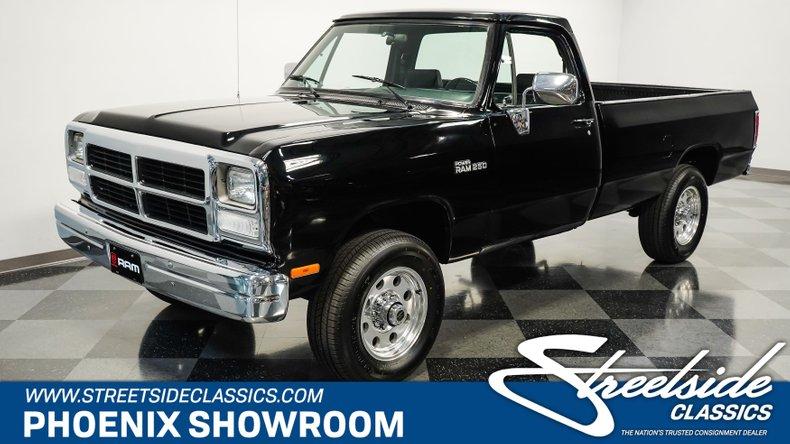 For Sale: 1991 Dodge Power Ram 250