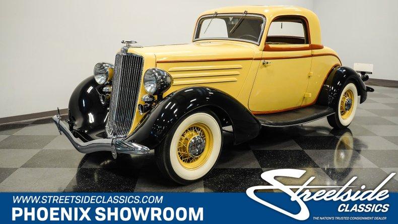 For Sale: 1934 Hupmobile Coupe