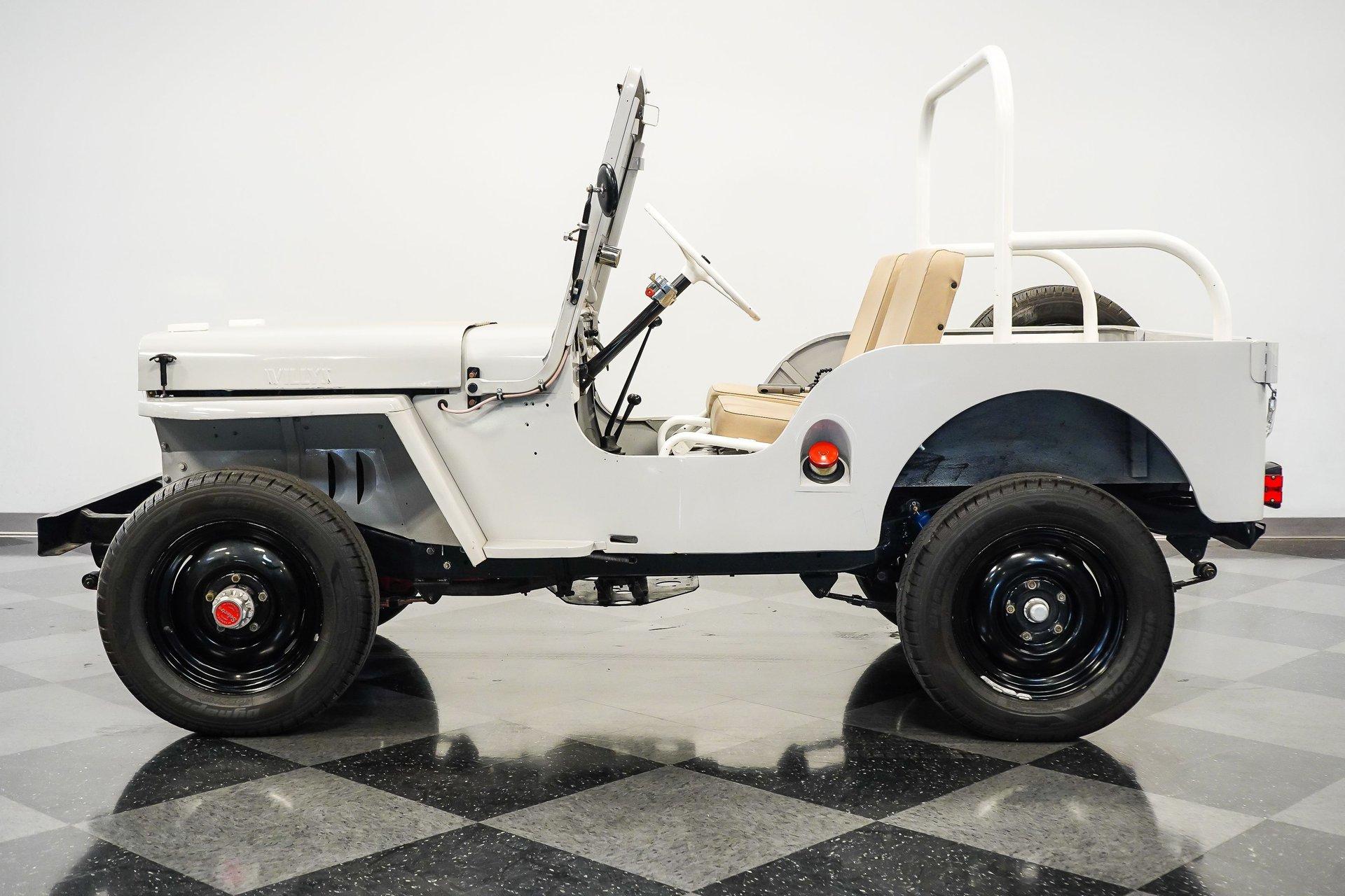 1951 willys jeep cj3a