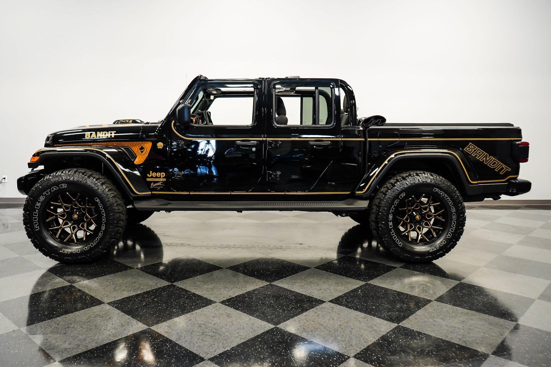 2021 jeep gladiator bandit edition