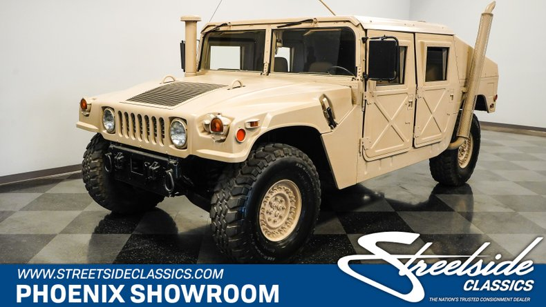 For Sale: 2005 AM General M1043A2 HUMVEE