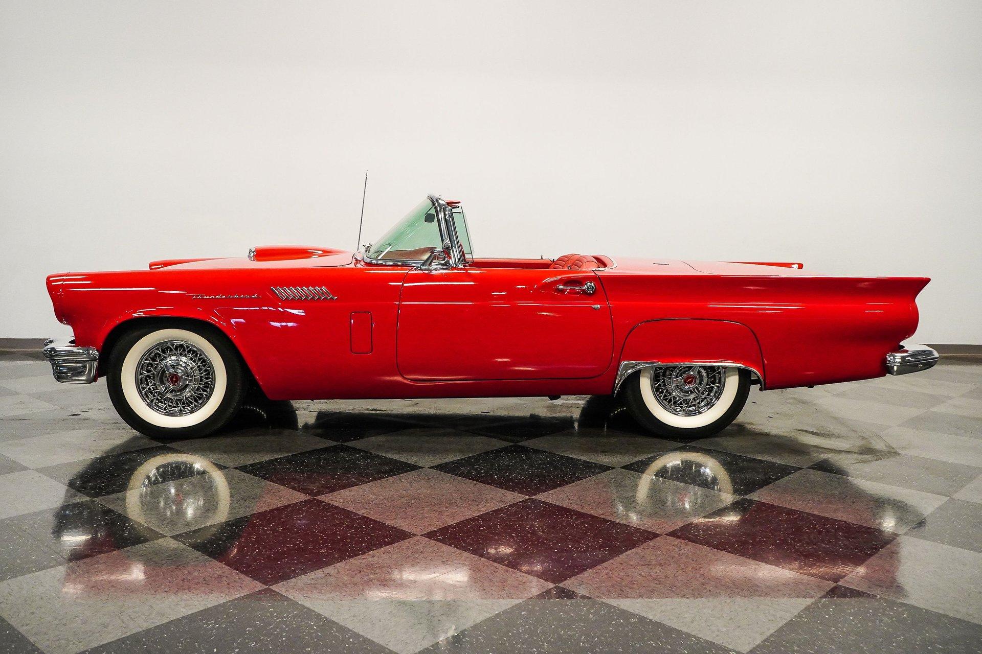 1957 ford thunderbird d code