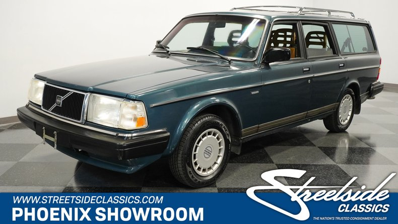 For Sale: 1989 Volvo 240DL