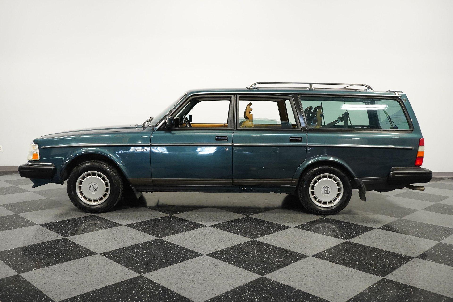 1989 volvo 240dl wagon