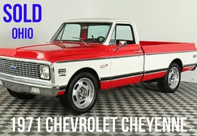 1971 Chevrolet Cheyenne