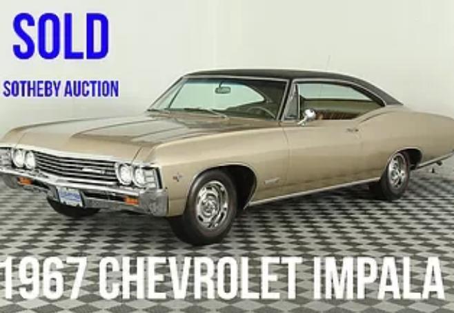1967 cherolet impala