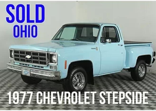 1977 Chevrolet Stepside