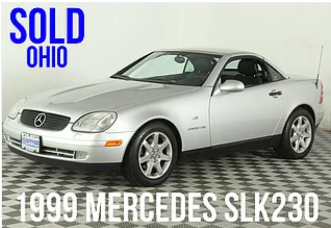 1999 Mercedes SLK230 For Sale