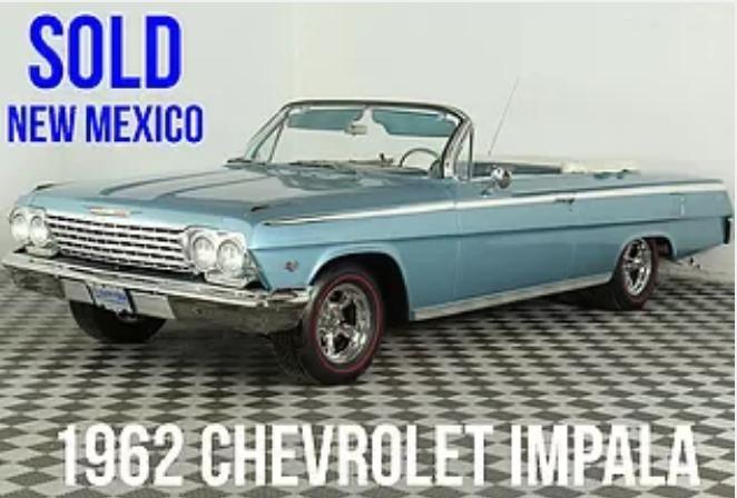 1962 Chevrolet Impala For Sale