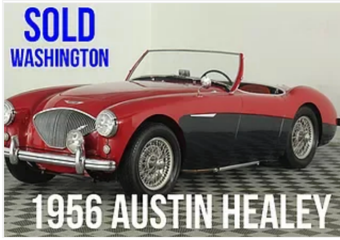 1956 Austin Healey