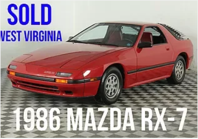 1986 Mazda RX-7 For Sale