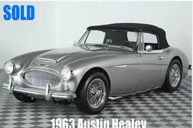 1963 Austin Healey