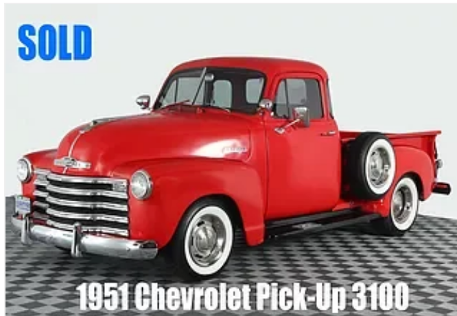 1951 chevrolet pick up