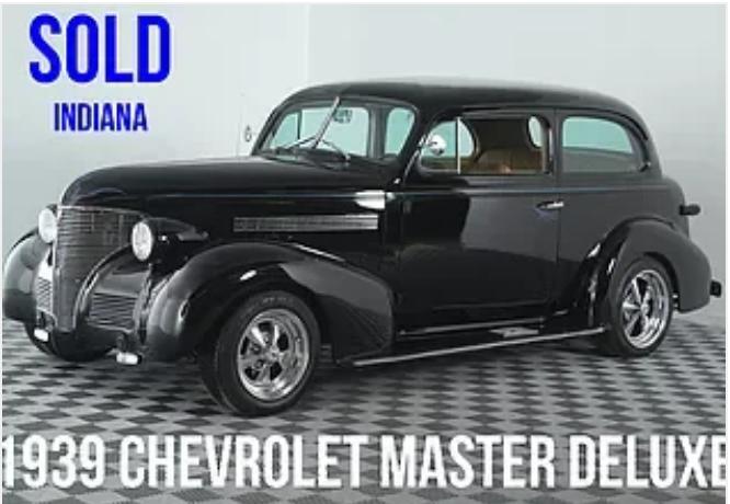 1939 Chevrolet Master For Sale