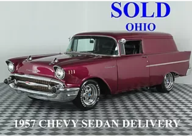 1957 Chevrolet Delivery