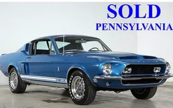 1968 shelby mustang