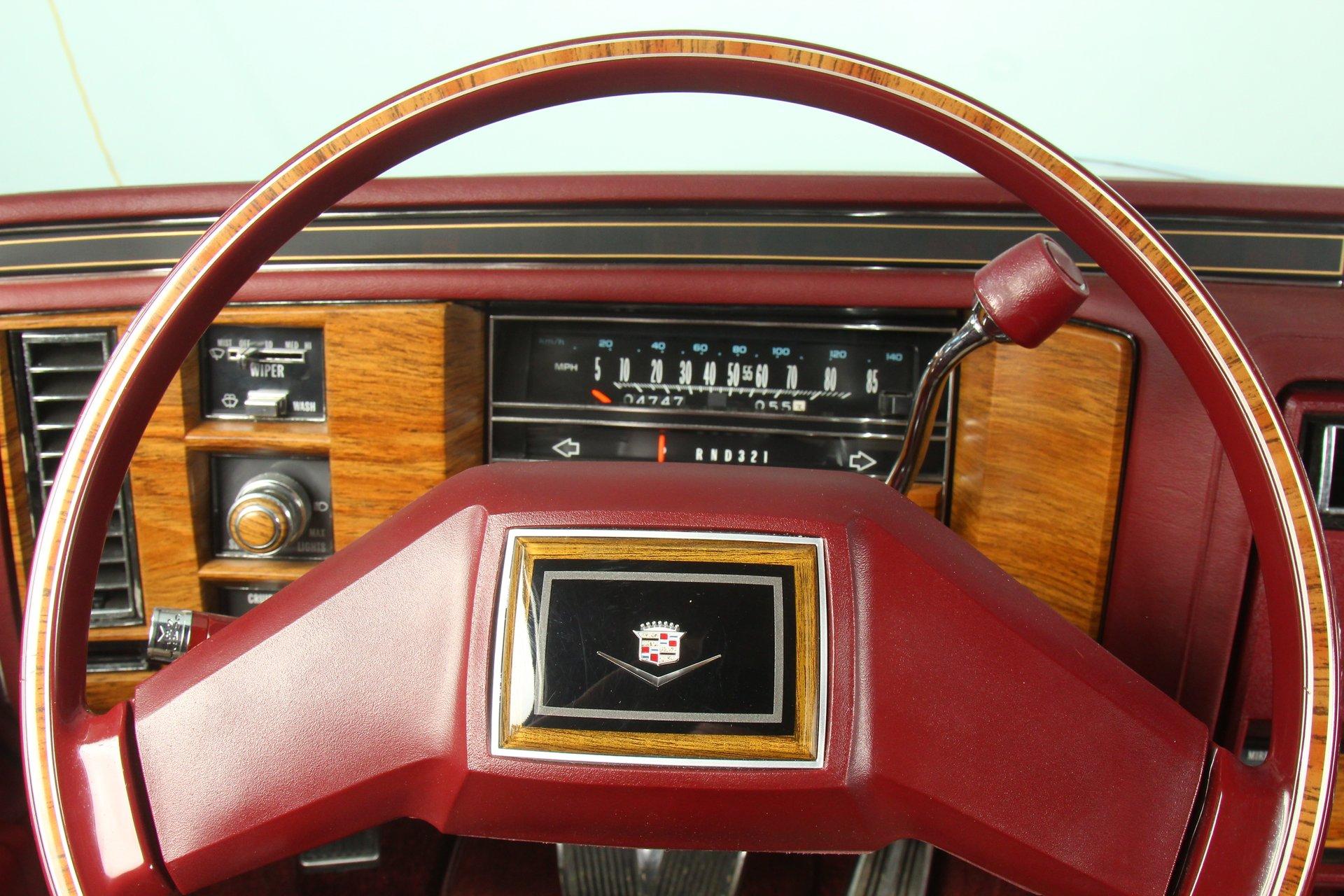 1983 Cadillac DeVille