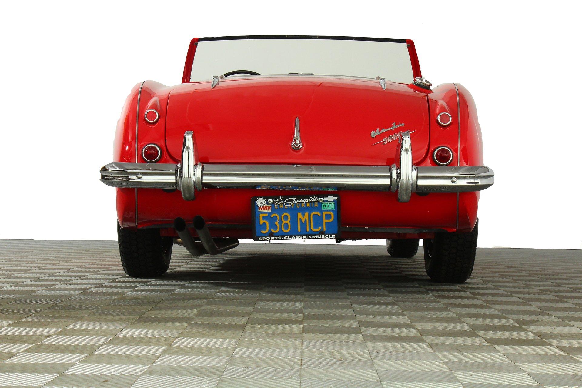 1962 Austin Healey 3000 MarkII