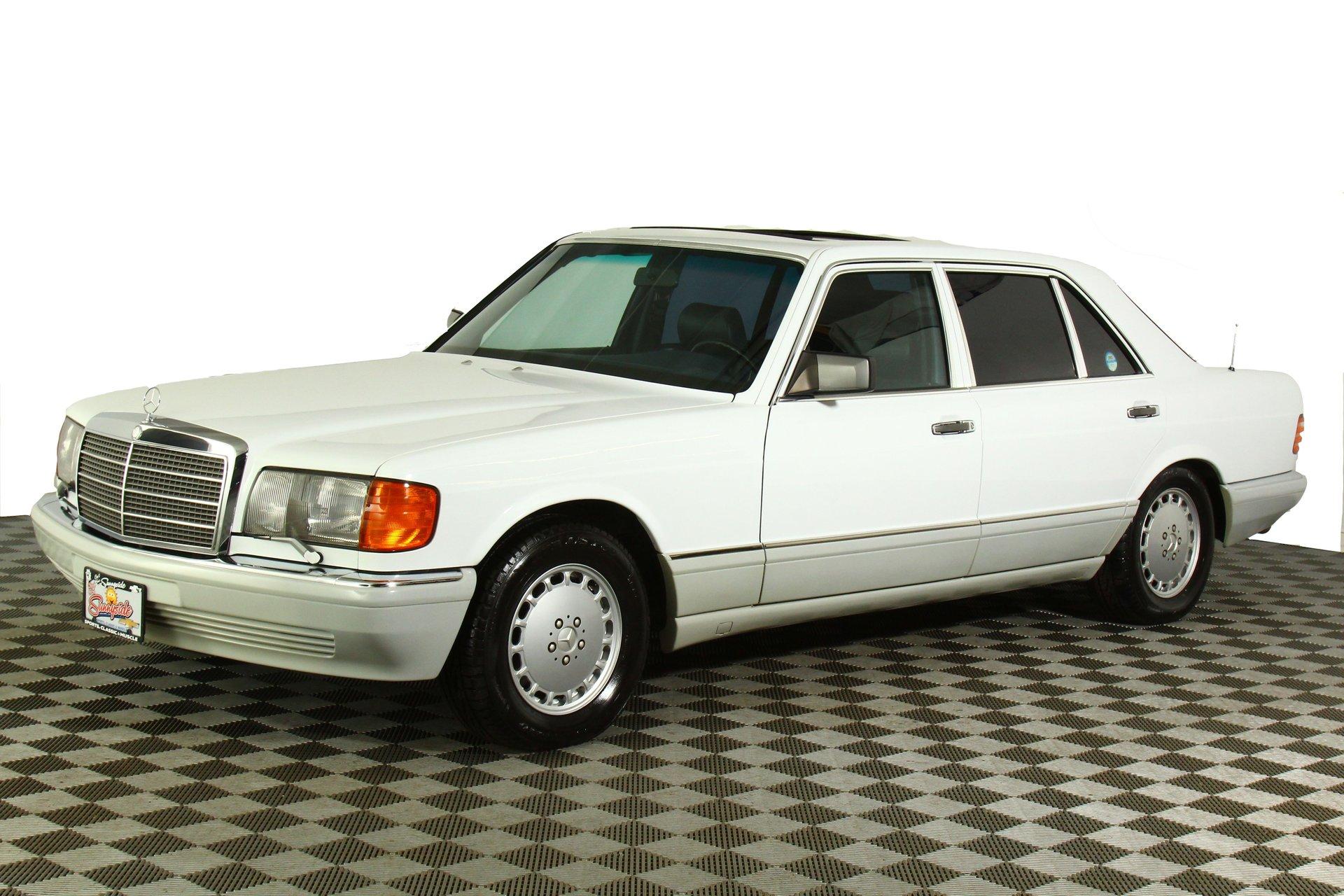 1986 mercedes benz 560 sel