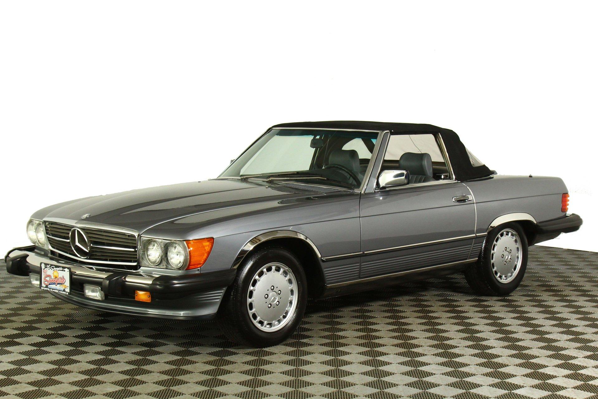 1987 mercedes benz sl 560