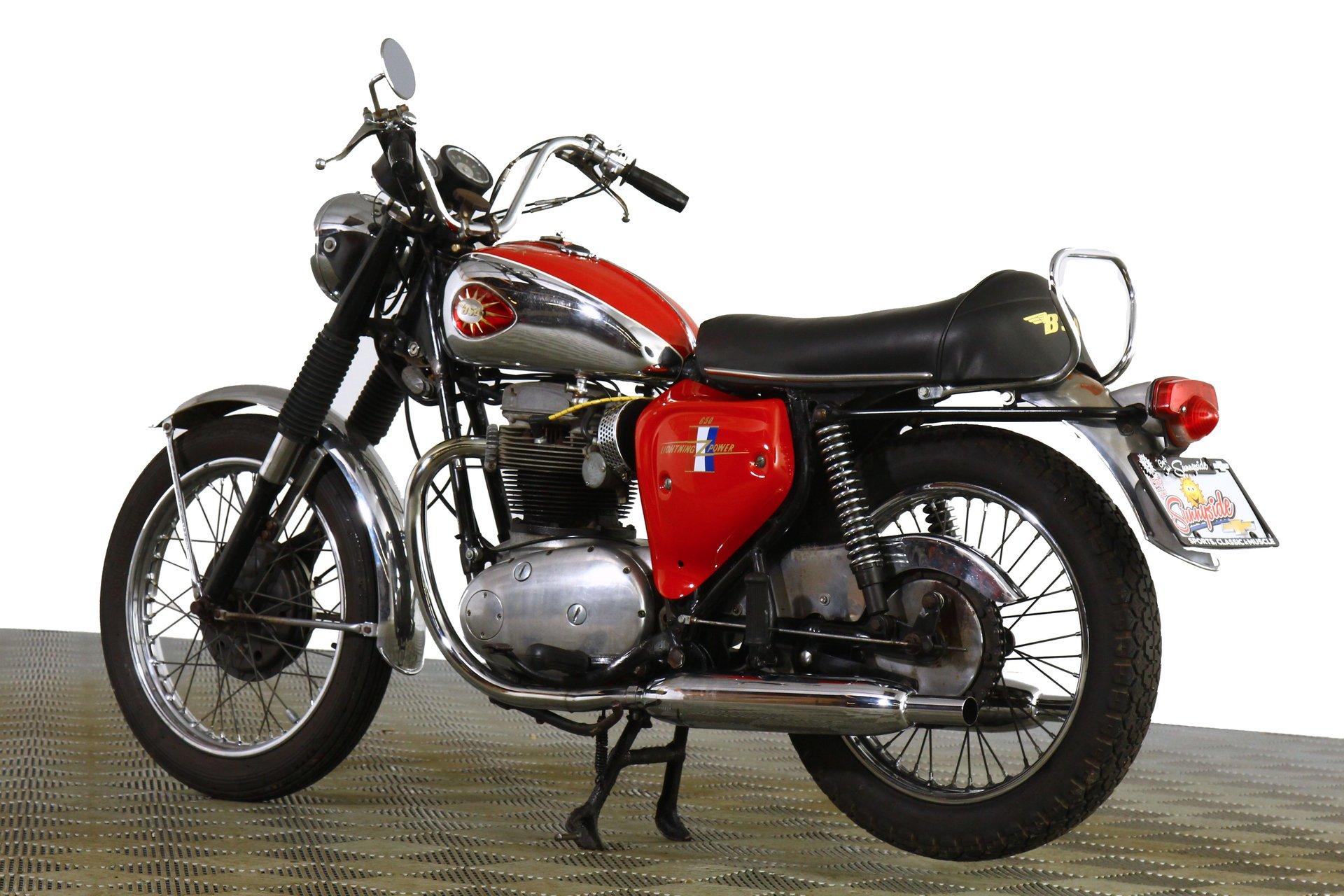 1968 BSA Lightning