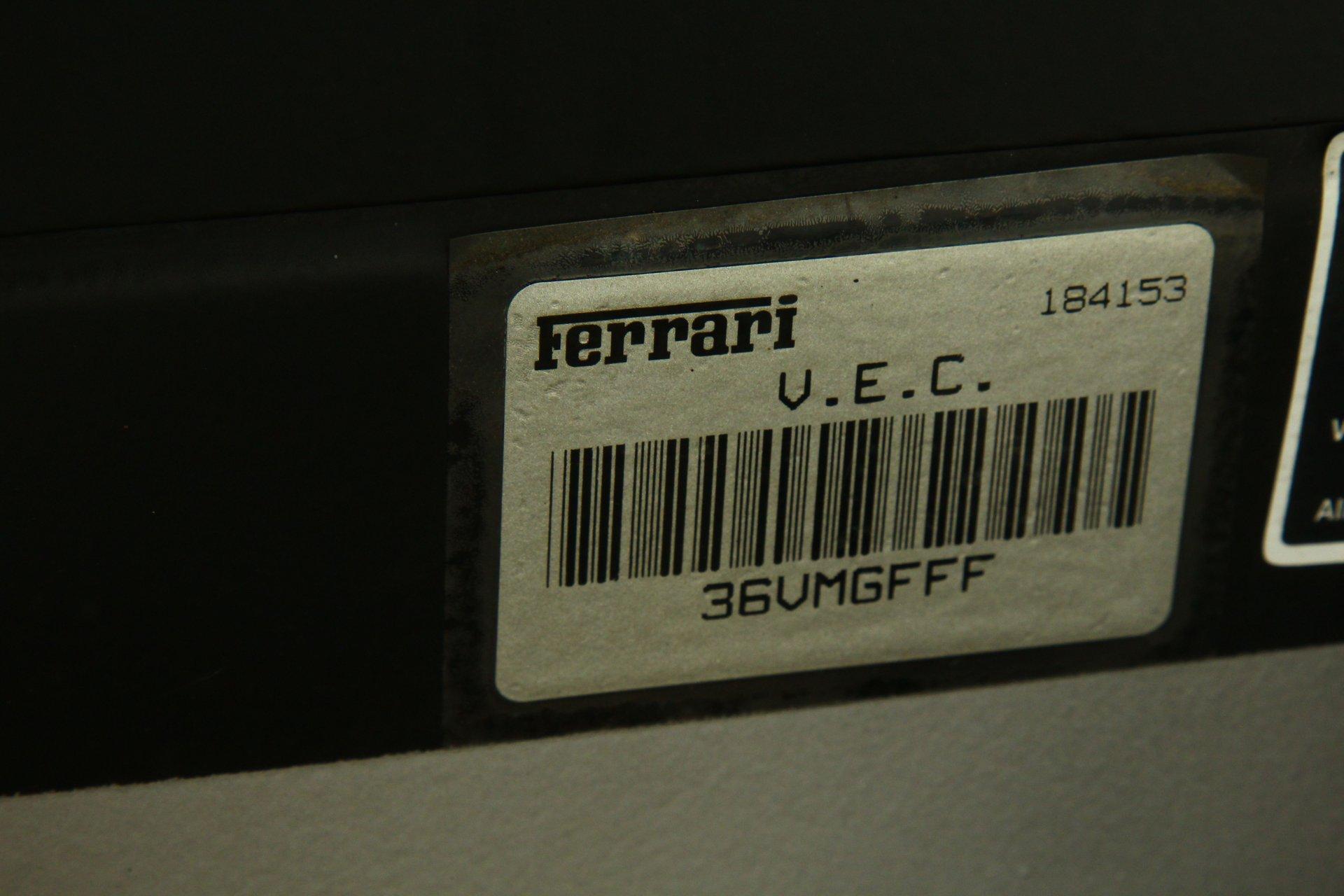 2002 Ferrari 380 Spider
