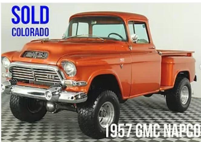 1957 GMC Napco