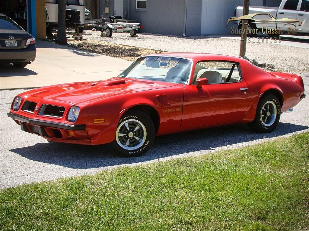 1974 pontiac trans am super duty coupe