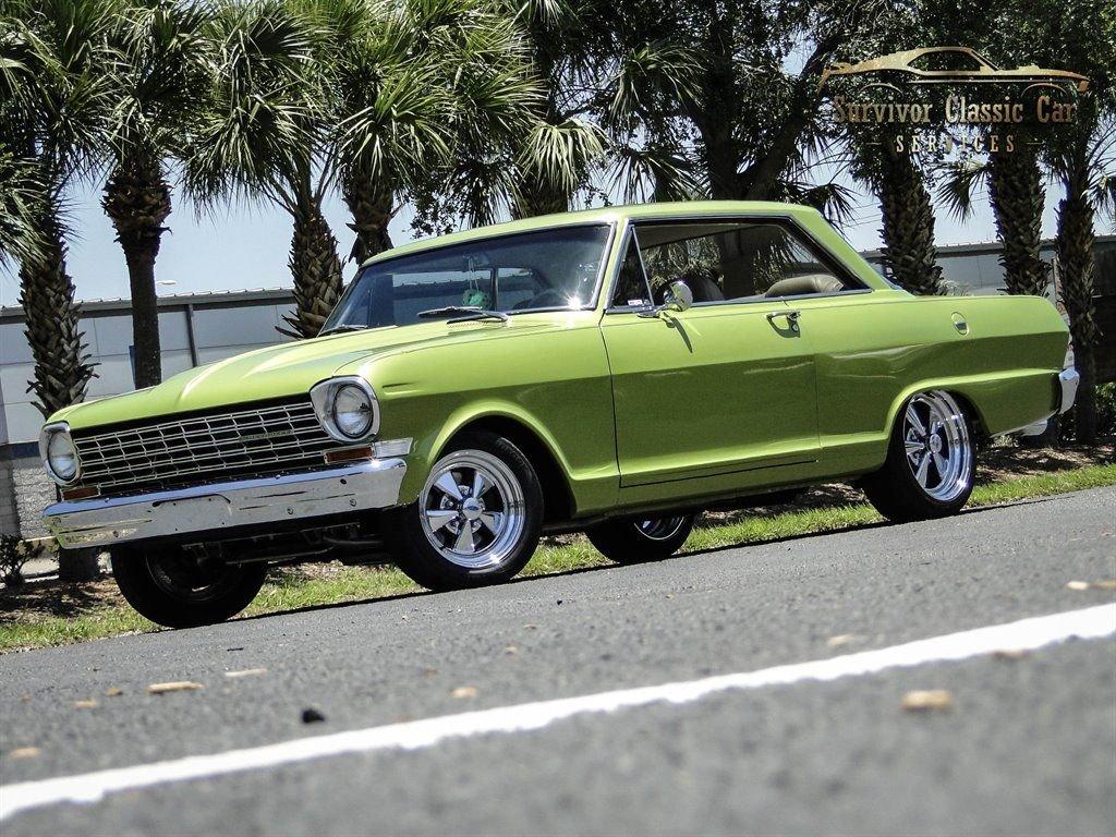 1964 chevrolet nova chevy ii restomod