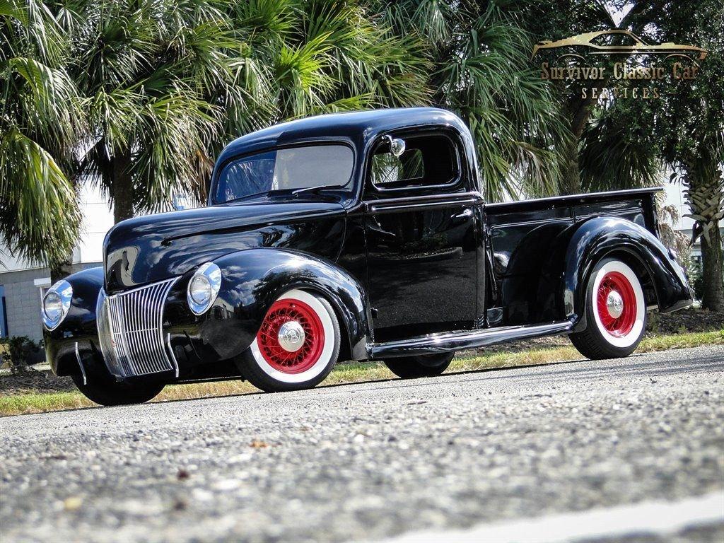1940 ford pickup 2 door