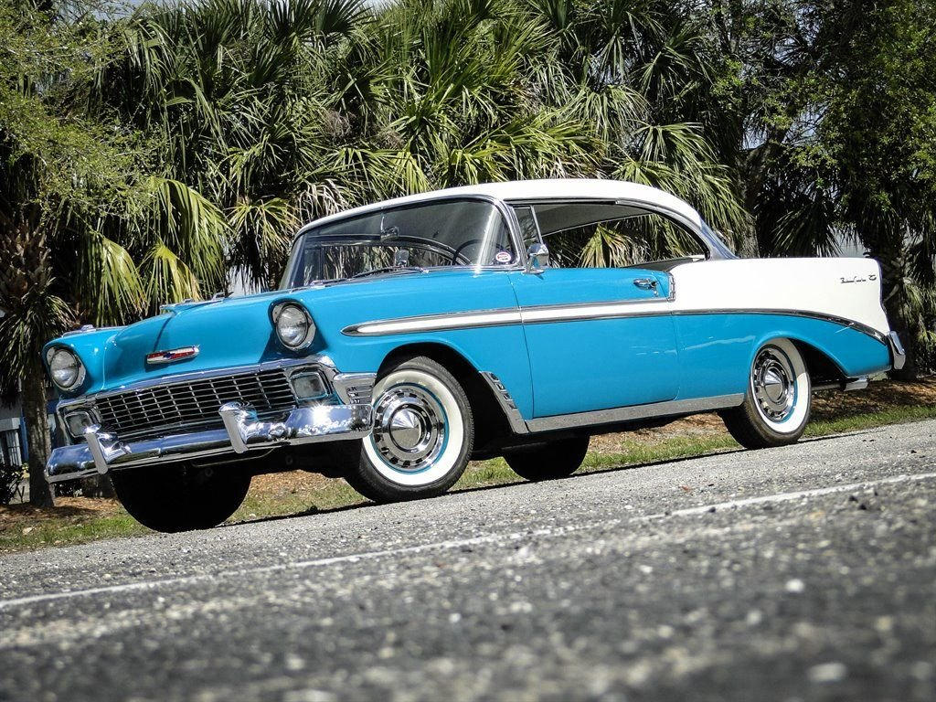 1956 chevrolet bel air coupe