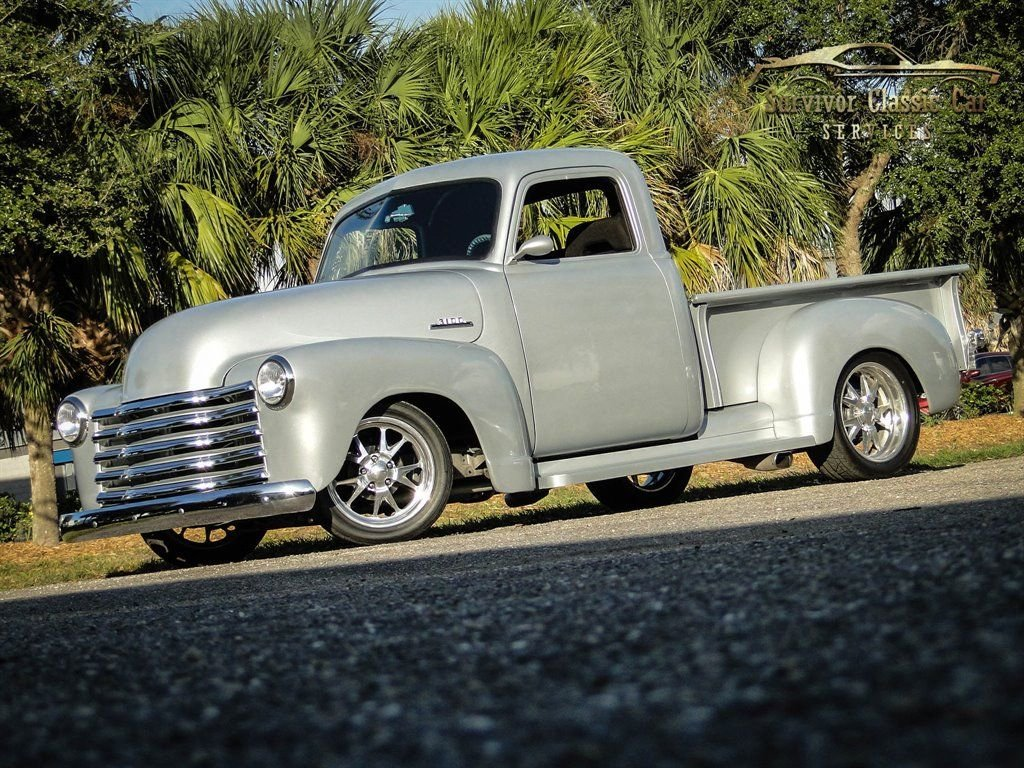 1950 chevrolet 3100 3 window pickup