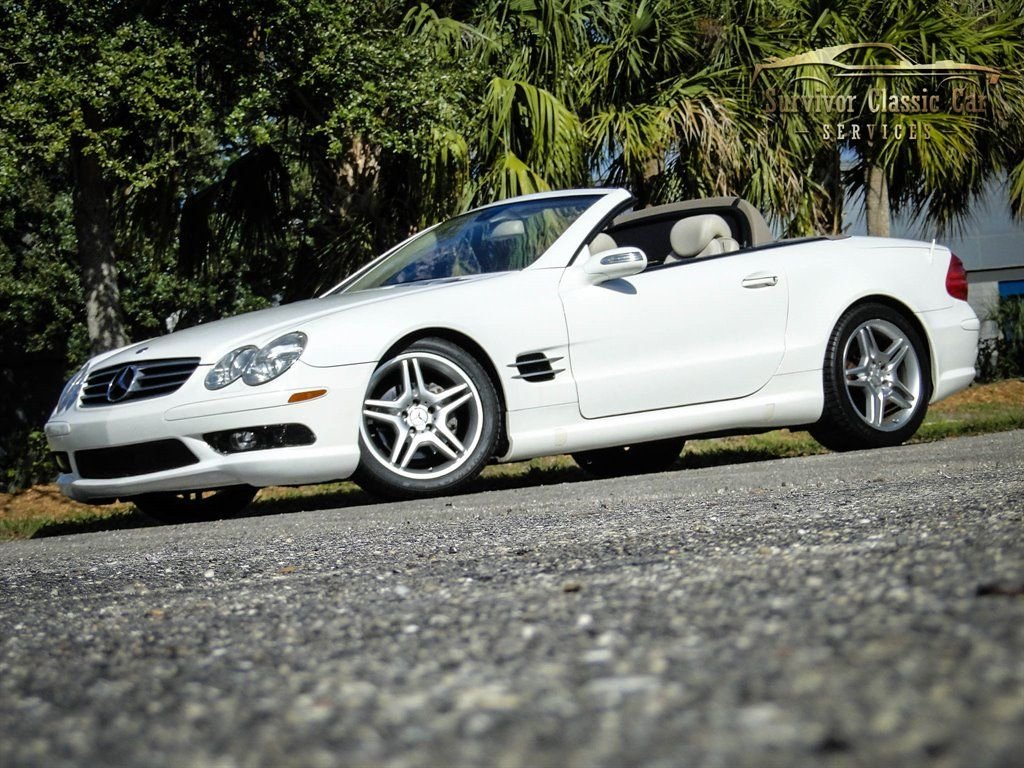 2005 mercedes benz sl500 sl500