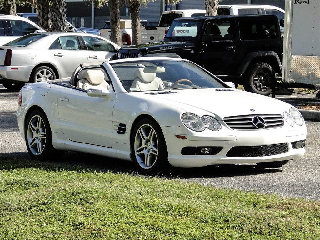 2005 Mercedes-Benz SL500