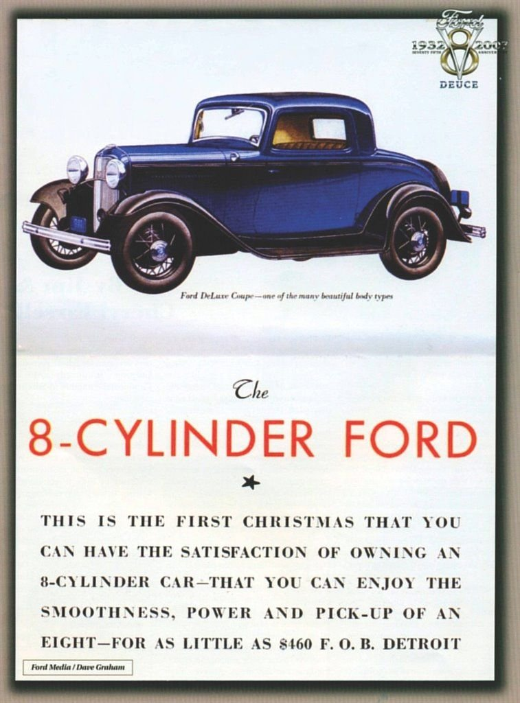 1932 Ford 5-Window Coupe