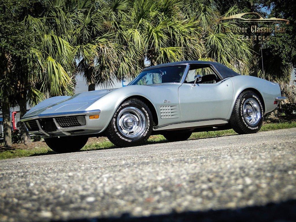 1970 chevrolet corvette roadster