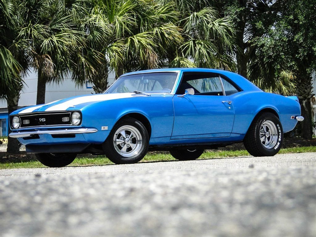 1968 chevrolet camaro ss tribute